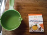 Here is the broth cubes we used. They are vegan and gluten free and yeast free! hooray!