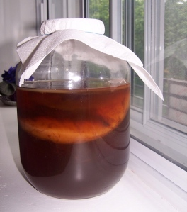Mother Kombucha doing some magic in there!