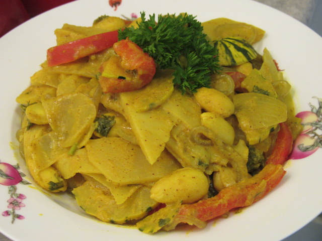 A really comforting curry dish!