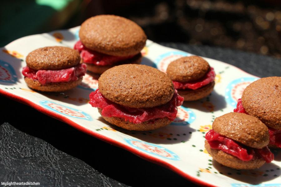 Raspberry Ice Cream Sandwiches Recipes — Dishmaps