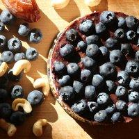 Blueberry Cheesecake - A raw vegan treat